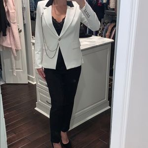 Veronica Beard Dickey Jacket With Chain Detail